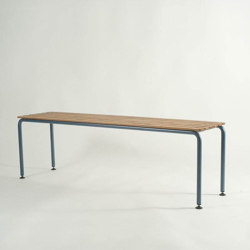 die sitzbank bova f r den aussenbereich metall eschenholz. Black Bedroom Furniture Sets. Home Design Ideas