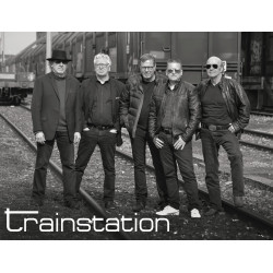 Trainstation auf der Konzertbühne