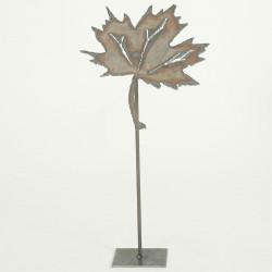 Herbstblatt Ahorn gross